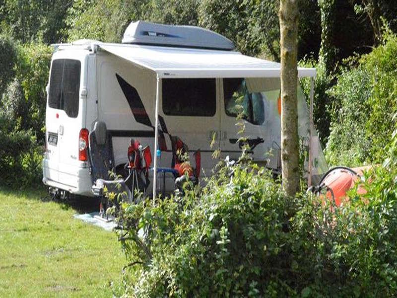 Aire de camping car du traspy thury harcourt aire de service pour camping - Location terrain pour camping car ...