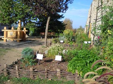 © Jardins médiévales - Capdenac-Le-Haut
