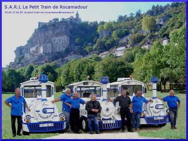 © Petit train de Rocamadour