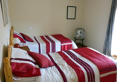 Chambre lits 2X90
