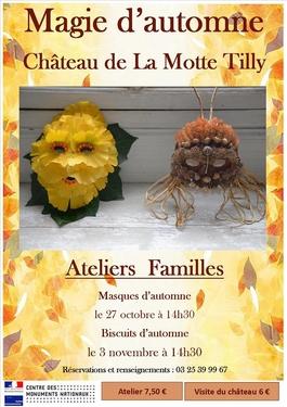 ATELIERS CREATIFS AU CHATEAU DE LA MOTTE TILLY