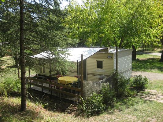 © Camping Plan d'Eau de la Cayre