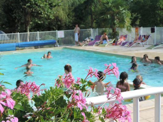La piscine chauffée.