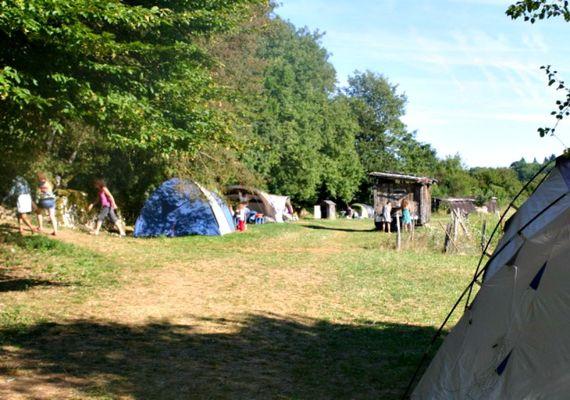 camping ferme en paille
