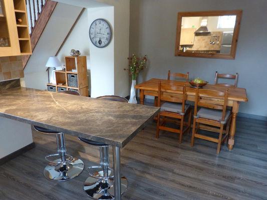 détail cuisine-salle à manger