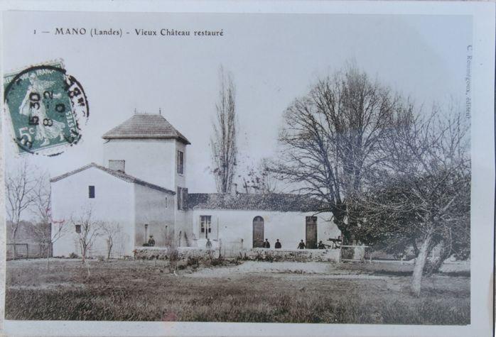 Mano---chateau-de-Leon-Bouyssou--carte-postale-ancienne--reproduction.jpg