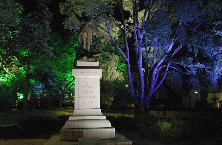 Le jardin public de nuit..JPG