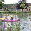 Kayak devant le gîte sur bassin canal 2011 13 (4).jpg
