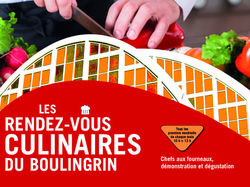 See more information about Les rendez-vous culinaires du Boulingrin