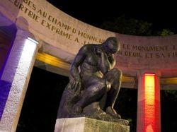 Siehe seite von Kriegerdenkmal Reims