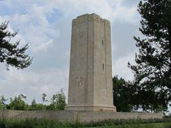 Siehe seite von Blanc-Mont Amerikanisches Denkmal