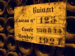 See more information about Visits Champagne Ruinart