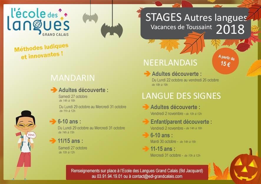Ecole des Langues Grand Calais 22 octobre 2 novembre.jpg