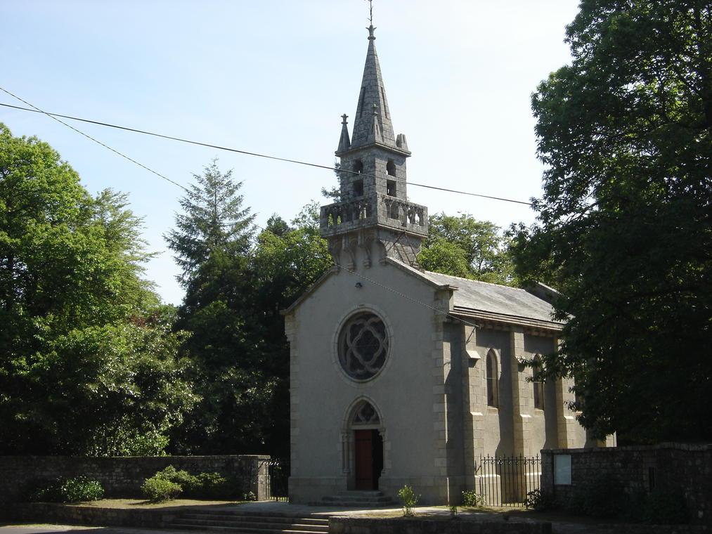Chapelle Ste Anne des Bois - Berné - Pays roi Morvan - Morbihan Bretagne sud.JPG