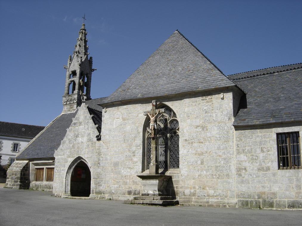 Eglise - Lanvenegen -  Pays roi Morvan - Morbihan Bretagne sud - CP OTPRM (30).JPG