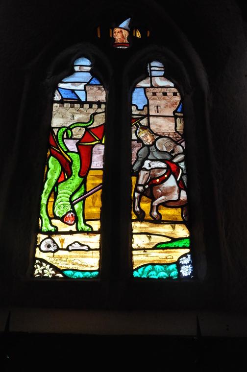 intérieur chapelle st Georges - Meslan - ©OTPRM (1).JPG