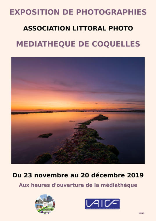 Exposition photo  Asso littoral photo 23 nov au 20 dec médiathèque coquelles.jpg