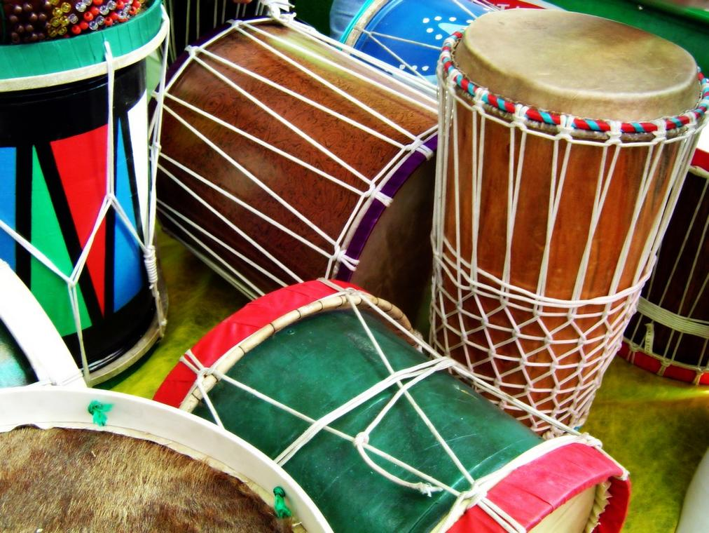 Percussions bantu. Copyright Rodrigo Ortega from FreeImages.jpg