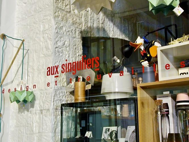 Vitrine boutique Aux Singuliers