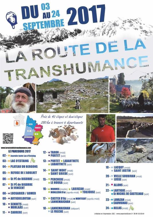 Route de la transhumance