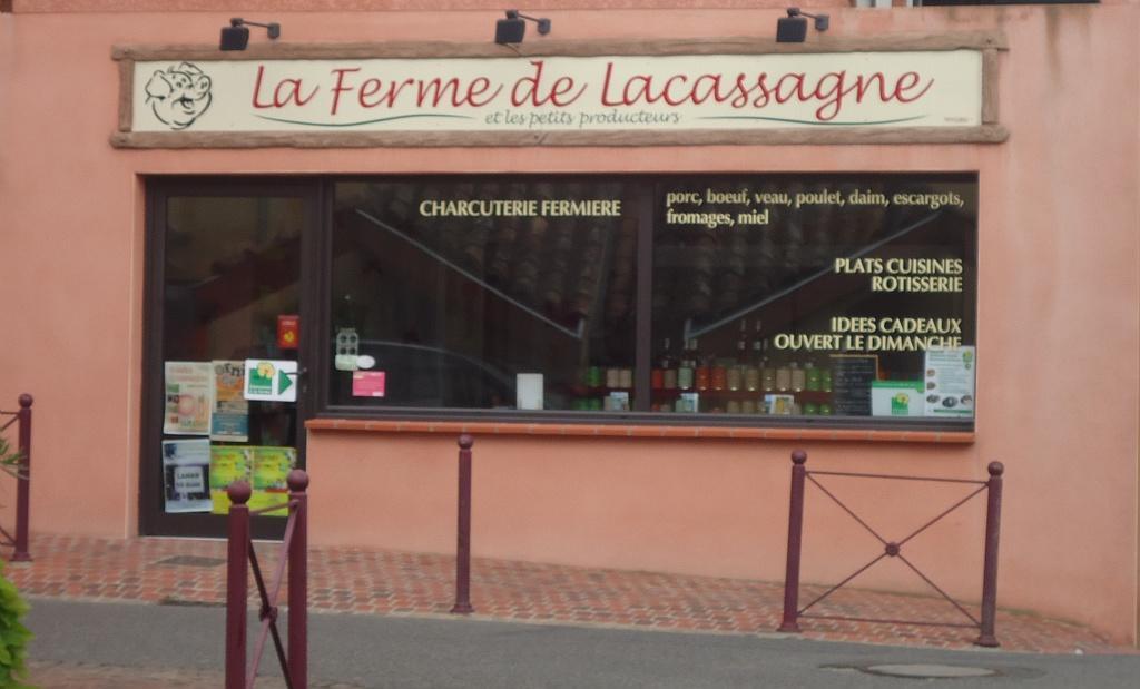 Boutique ferme de Lacassagne