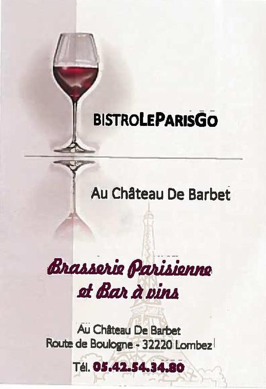 Bistro Le paris Go