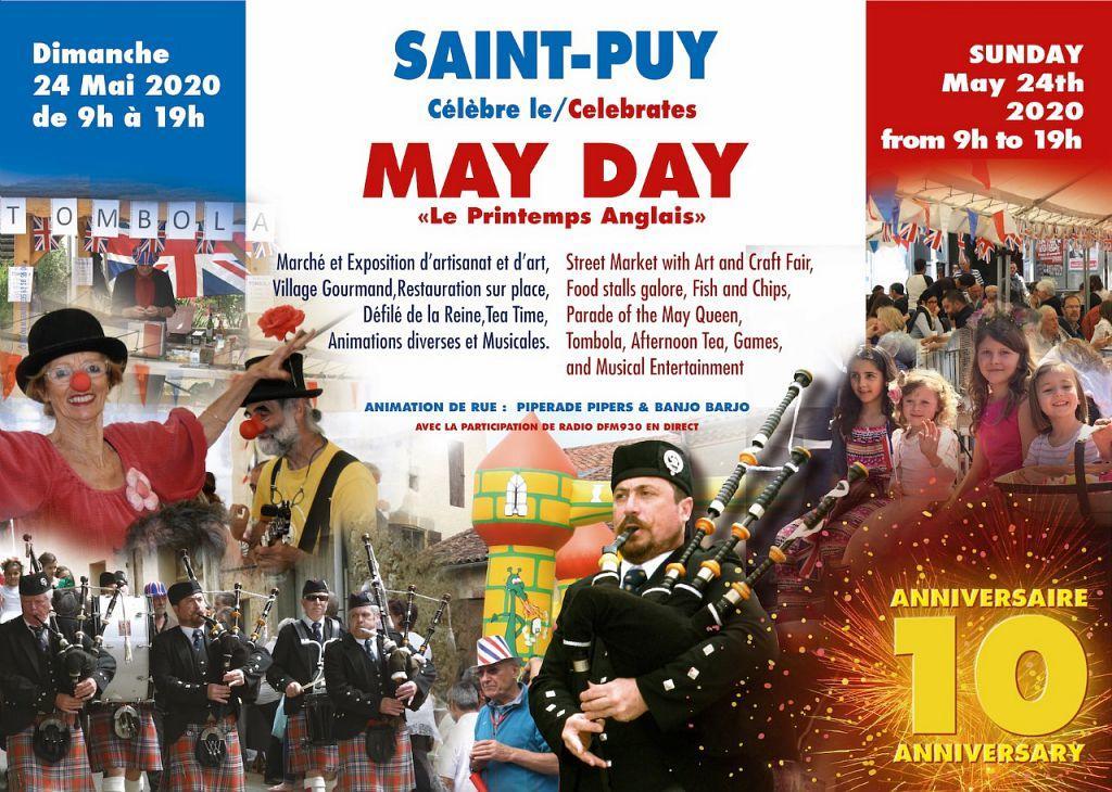 May Day, le printemps anglais à St Puy