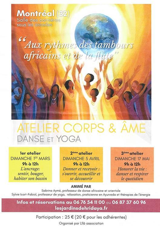 Atelier danse et yoga