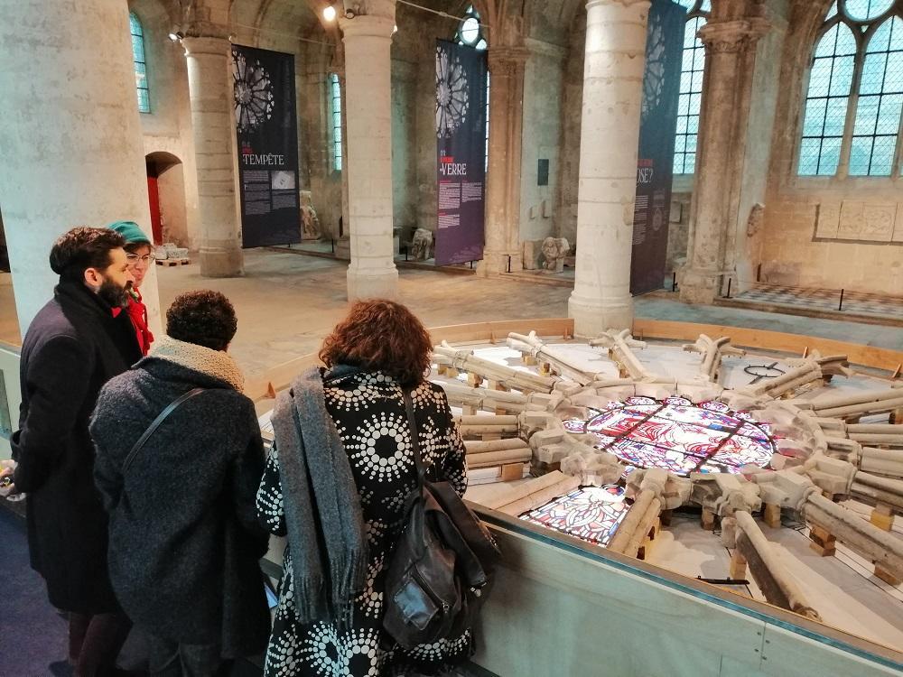 Expo rose de la cathédrale < Soissons < Aisne