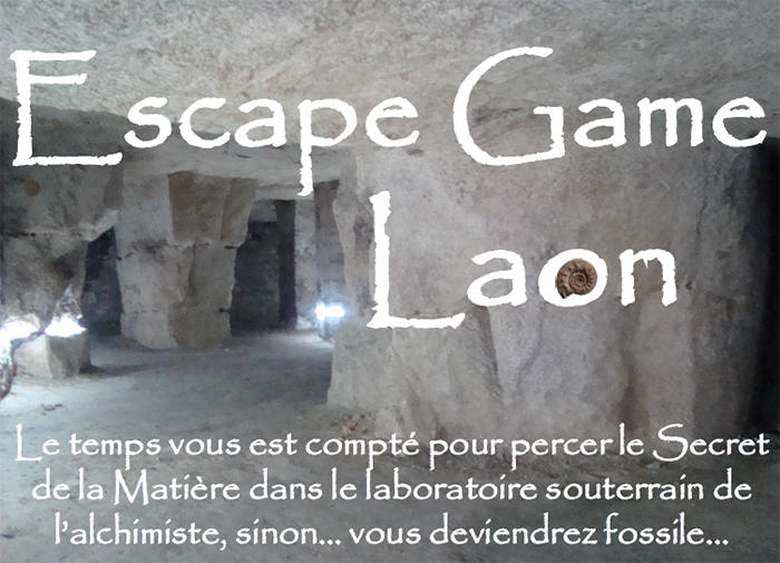 Escape game souterrains ESCAL < Laon < Aisne < Hauts-de-France