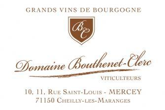 Cheilly les Maranges - Domaine Bouthenet Clerc - 2017