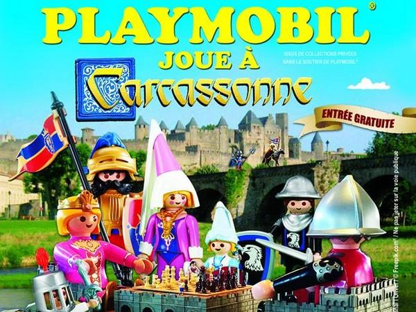 Playmobil joue a carcassonne