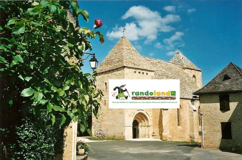 Eglise Archignac logo randoland redim