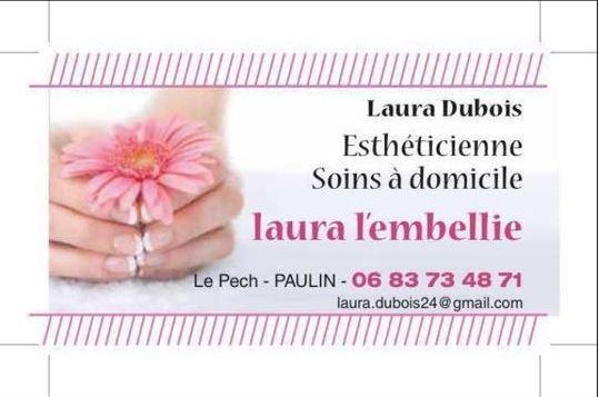 Laura Dubois, ésthéticienne