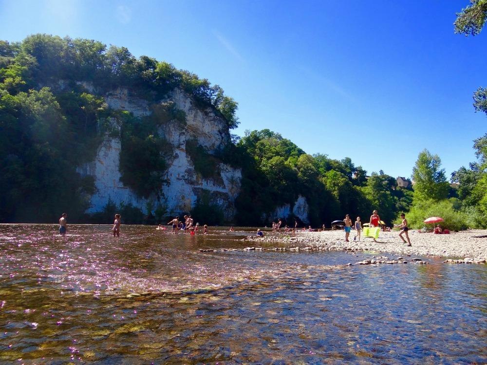 Canoës du Camping du Rocher de la Cave