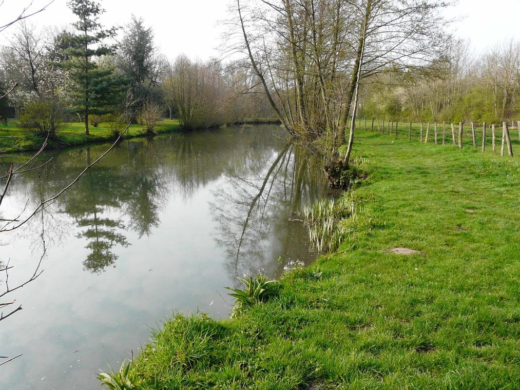Parcours de la rivière Ozanne 2ème catégorie