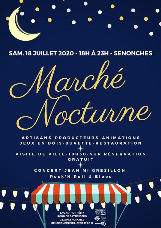 Affiche Marché Nocturne (1)