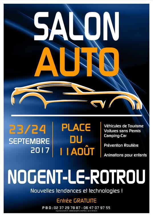 Affiche Salon de l'Auto