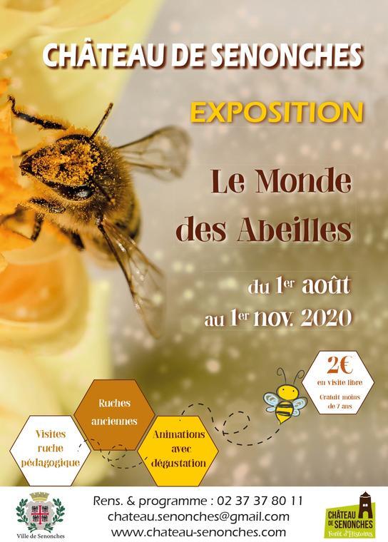 Le monde des abeilles_expo château de Senonches_V2.indd