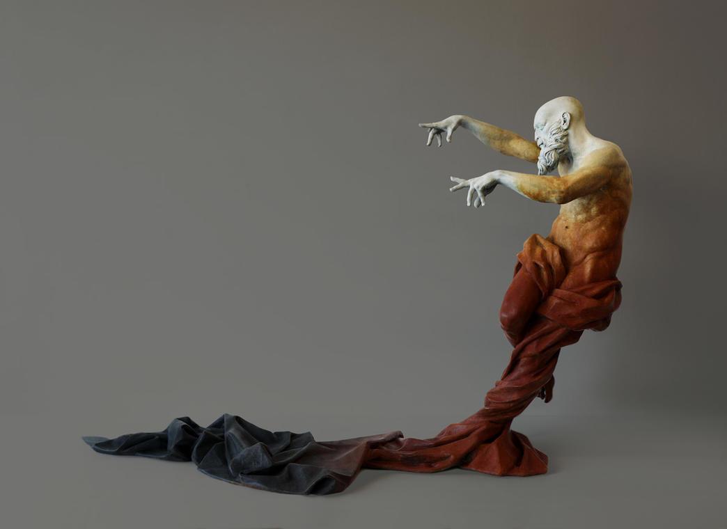 Aquilon de César Orrico, Galerie Calderone-Dinard
