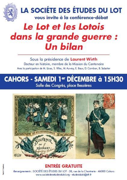 1 déc Conférence Cahors