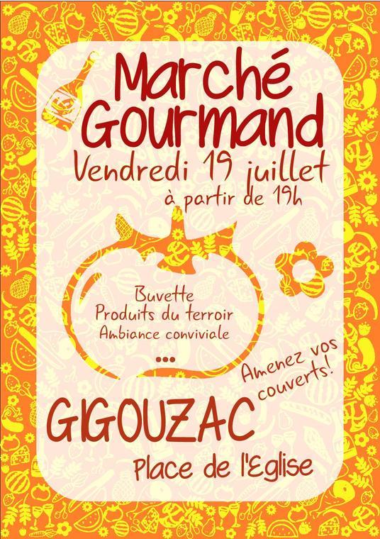 19.07.19 Marché Gourmand Gigouzac