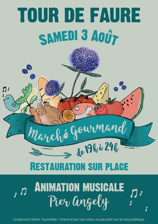19.08.03 Marché Gourmand TDF