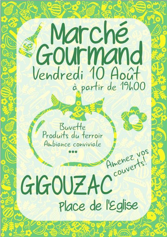 19.08.10 Marché Gourmand Gigouzac
