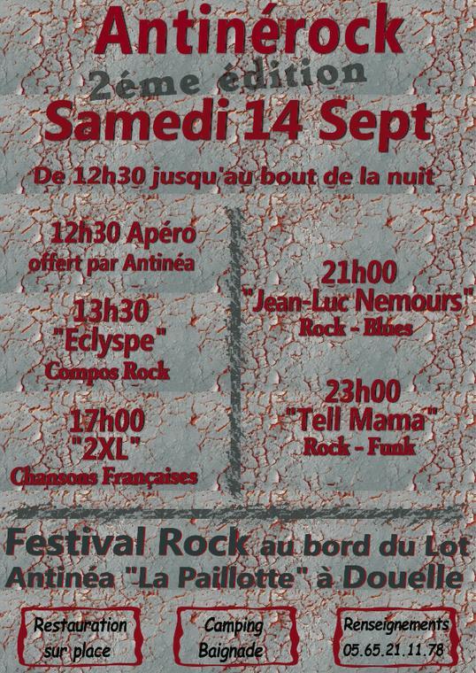 19.09.14 Antinéa Festival Rock