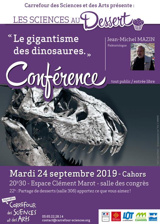 19.09.24 Conférence Carrefour des Sciences et des arts
