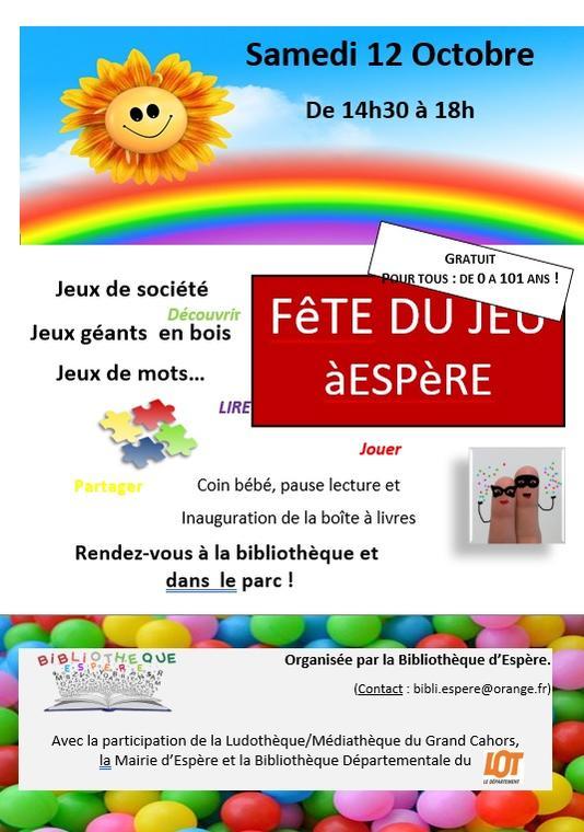 19.10.12 Espere Fête du Jeu