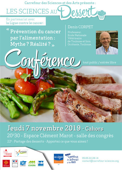 19.11.07 Conférence au dessert Cahors