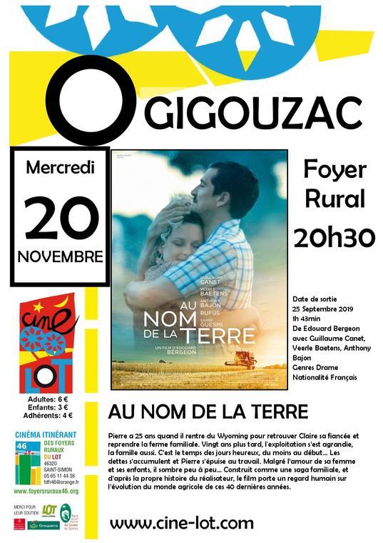 19.11.20 AU NOM DE LA TERRE GIGOUZAC