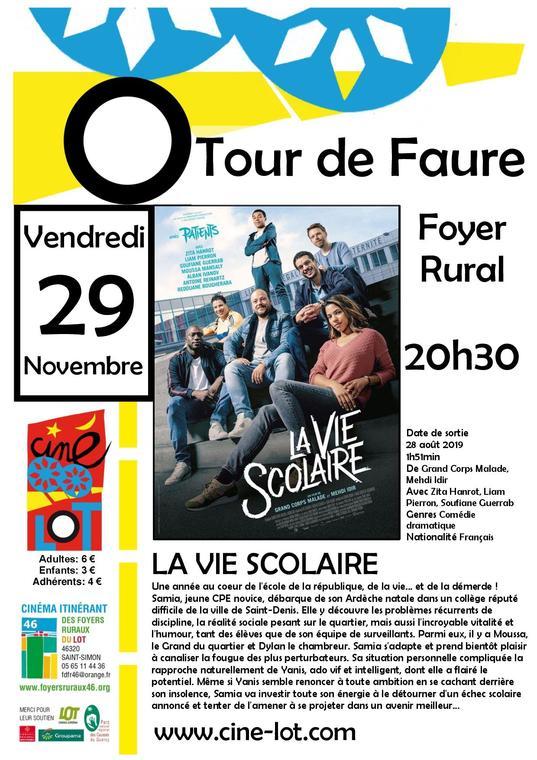 19.11.29 LA VIE SCOLAIRE TOUR DE FAURE